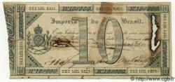 10 Mil Reis BRÉSIL  1833 P.A154 TB