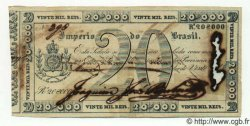 20 Mil Reis BRÉSIL  1833 P.A155 TTB