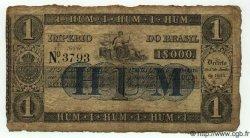 1 Mil Reis BRÉSIL  1860 P.A219 B+