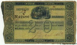 20 Mil Reis BRÉSIL  1850 P.A223 pr.TB