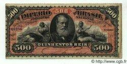 500 Reis BRÉSIL  1880 P.A243a TTB+