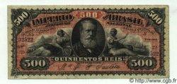 500 Reis BRÉSIL  1880 P.A243b TTB