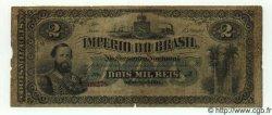 2 Mil Reis BRÉSIL  1870 P.A245 B+