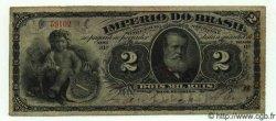 2 Mil Reis BRÉSIL  1882 P.A251 TTB