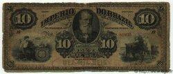 10 Mil Reis BRÉSIL  1883 P.A258 B
