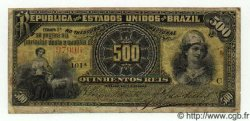 500 Reis BRÉSIL  1893 P.001b TB+