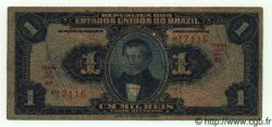 1 Mil Reis BRÉSIL  1919 P.006 B+