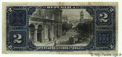 2 Mil Reis BRÉSIL  1890 P.010b TB+