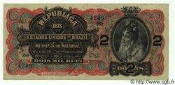 2 Mil Reis BRÉSIL  1918 P.013 SUP