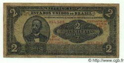 2 Mil Reis BRÉSIL  1921 P.016 pr.TB