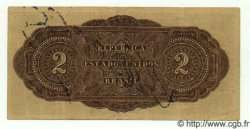 2 Mil Reis BRÉSIL  1923 P.017 TTB+