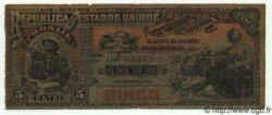 5 Mil Reis BRÉSIL  1890 P.018 B+