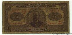 5 Mil Reis BRÉSIL  1922 P.027 B+