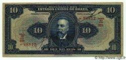 10 Mil Reis BRÉSIL  1918 P.036 TTB