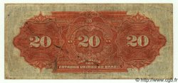 20 Mil Reis BRÉSIL  1912 P.045 pr.TTB