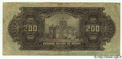 200 Mil Reis BRÉSIL  1925 P.081a TB+