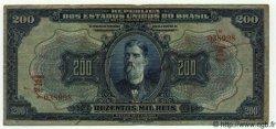 200 Mil Reis BRÉSIL  1925 P.081b pr.TB
