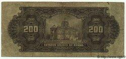 200 Mil Reis BRÉSIL  1925 P.081c pr.TB