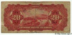 20 Mil Reis BRÉSIL  1926 P.104 B+ à TB