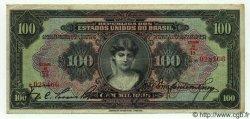 100 Mil Reis BRÉSIL  1926 P.106 TTB