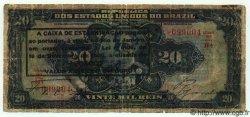 20 Mil Reis BRÉSIL  1926 P.109B B