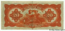 20 Mil Reis BRÉSIL  1926 P.109B TTB+