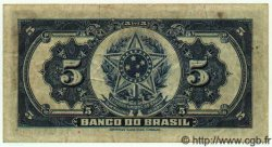 5 Mil Reis BRÉSIL  1923 P.113 TTB
