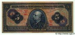 5 Cruzeiros sur 5 Mil Reis BRÉSIL  1942 P.125 TTB+