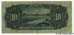 10 Cruzeiros sur 10 Mil Reis BRÉSIL  1942 P.126 TB