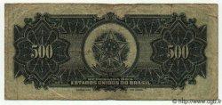 500 Cruzeiros sur 500 Mil Reis BRÉSIL  1942 P.131b pr.TB