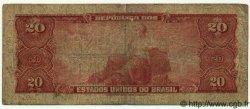 20 Cruzeiros BRÉSIL  1943 P.136 B+