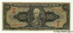 500 Cruzeiros BRÉSIL  1949 P.148 TB+