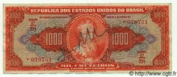 1000 Cruzeiros BRÉSIL  1949 P.149 TTB