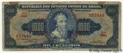 1000 Cruzeiros BRÉSIL  1955 P.156b B+