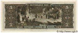 5 Cruzeiros BRÉSIL  1953 P.158a SPL