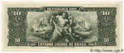 10 Cruzeiros BRÉSIL  1956 P.159c SUP+