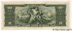 10 Cruzeiros BRÉSIL  1960 P.159f SPL