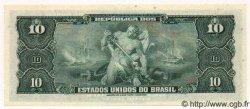 10 Cruzeiros BRÉSIL  1963 P.167b NEUF