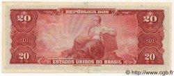 20 Cruzeiros BRÉSIL  1963 P.168b SPL