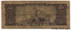 50 Cruzeiros BRÉSIL  1961 P.169 B+