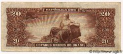 20 Cruzeiros BRÉSIL  1962 P.178 pr.TTB