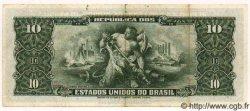1 Centavo sur 10 Cruzeiros BRÉSIL  1966 P.183a TTB