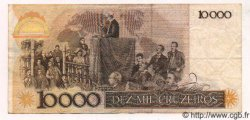 10000 Cruzeiros BRÉSIL  1984 P.203 TTB