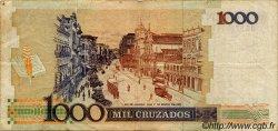 1000 Cruzados BRÉSIL  1988 P.213 TTB