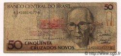 50 Cruzados Novos BRÉSIL  1989 P.219 TB