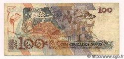 100 Cruzados Novos BRÉSIL  1989 P.220 TTB