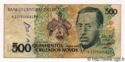 500 Cruzados Novos BRÉSIL  1990 P.222 TB+