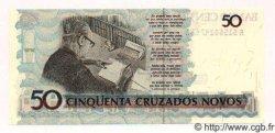 50 Cruzeiros sur 50 Cruzados Novos BRÉSIL  1991 P.223 NEUF