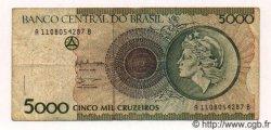 5000 Cruzeiros BRÉSIL  1992 P.227 TB+