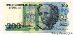 200 Cruzeiros BRÉSIL  1992 P.229 NEUF